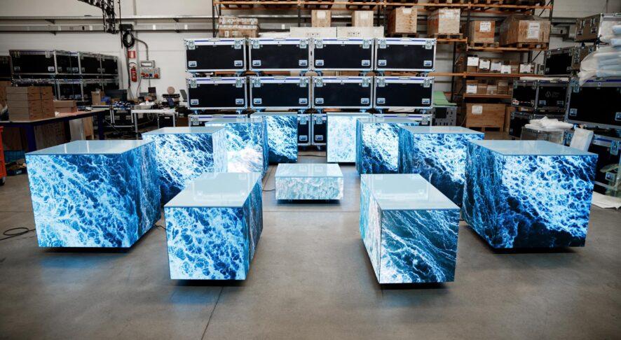 Wave&Co presenta i Cubi Video Led, esempio di puro artigianato tecnologico