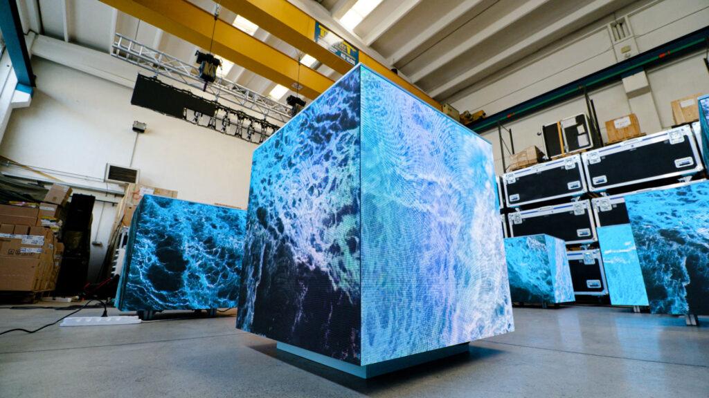 Cubi Video Led di Wave&Co, puro artigianato tecnologico