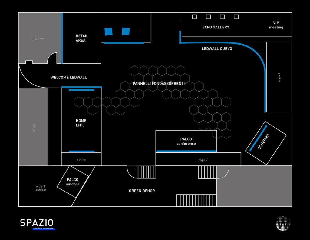 La mappa di SPAZIO: il nostro showroom a Milano