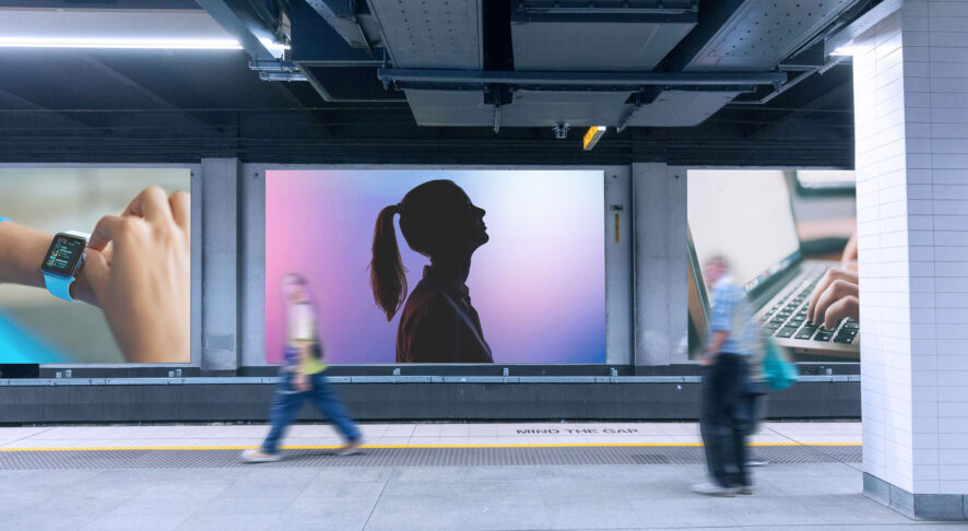Led screen per stazioni ferroviarie e metropolitane
