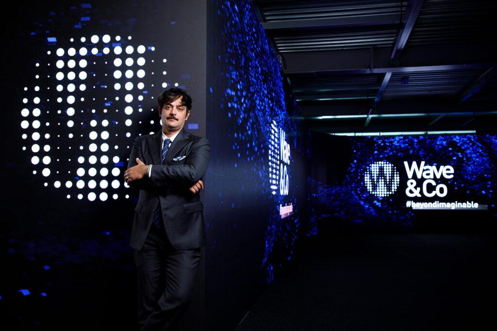 Manuel Maccioni, A.D. di Wave&Co, mente e cuore dietro il concetto di SPAZIO