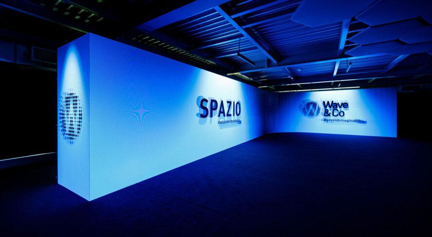 SPAZIO, il nuovo showroom ipertecnologico di Wave&Co