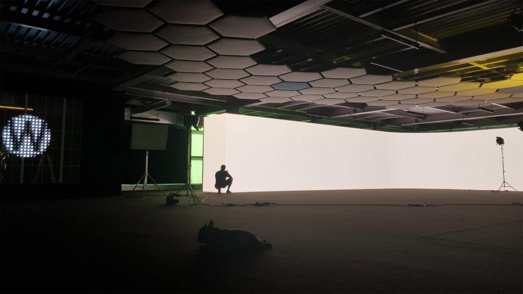 SPazio, il nuovo showroom di Wave&Co in un momento della fase di allestimento