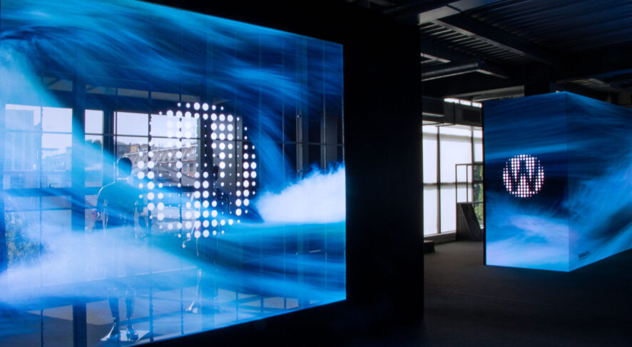 Transparent LED Screen by Wave&Co