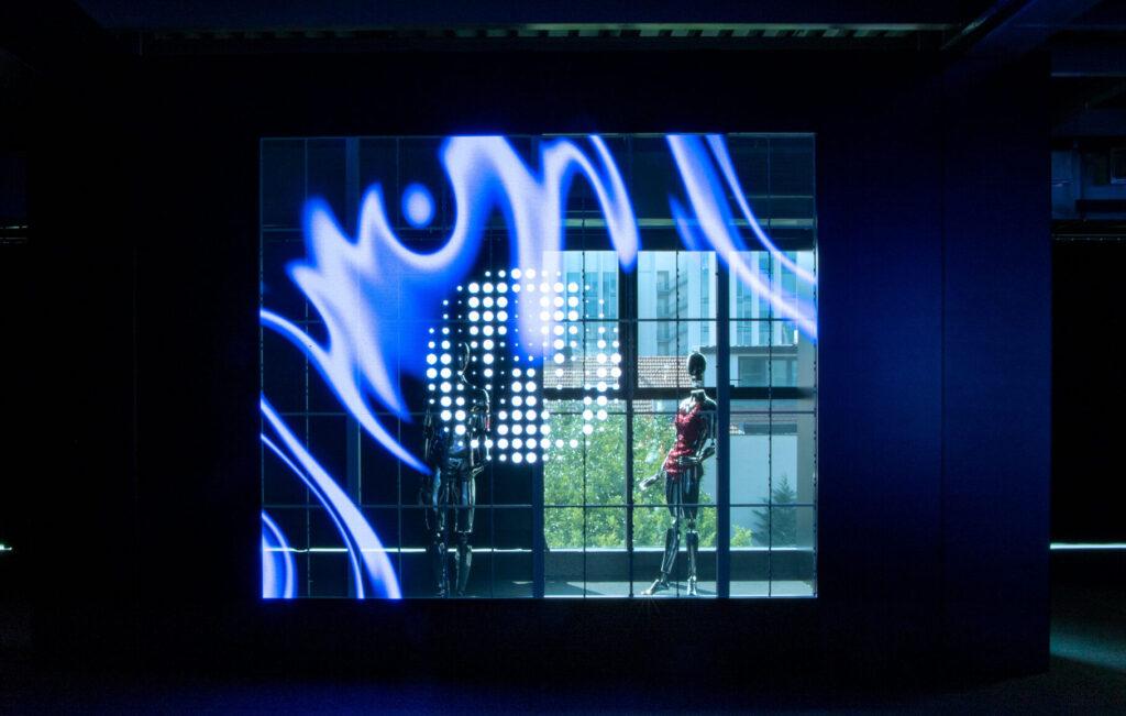 Schermo trasparente a Led di Wave&Co