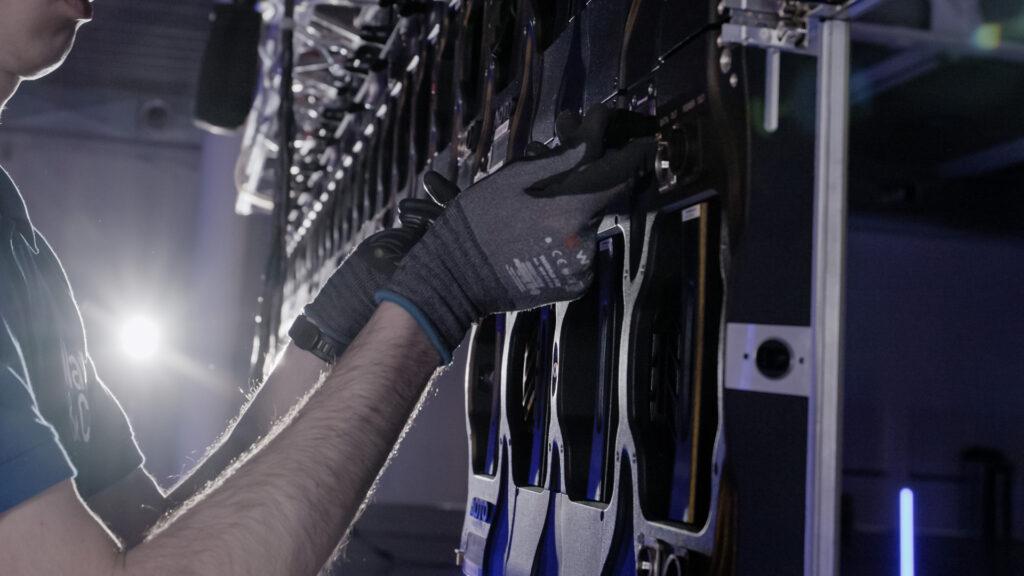 I tecnici Wave&Co, formati sulle tematiche si Sicurezza sul Lavoro.