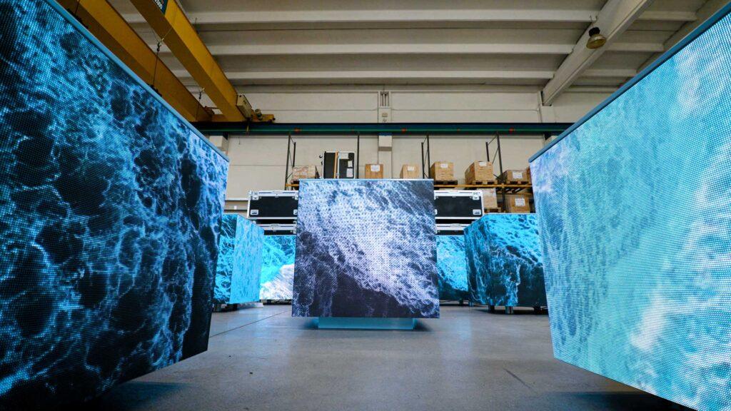 I cubi video led di Wave&Co: creatività ed artigianato tecnologico