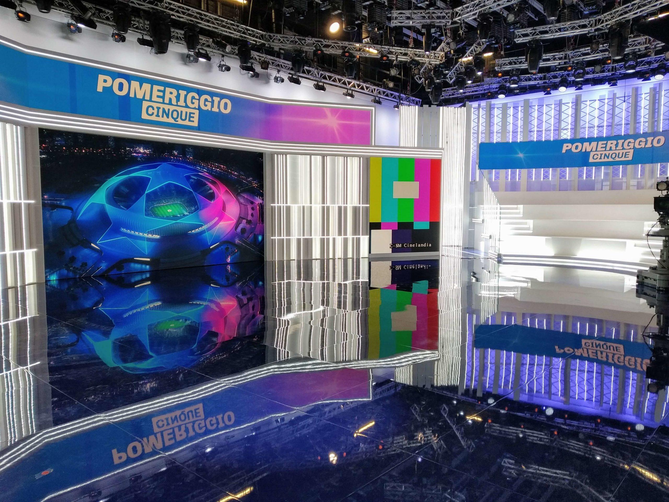 Ledwall per trasmissioni televisive