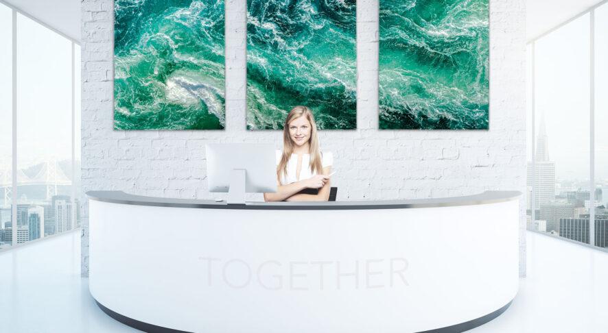 Reception Ufficio Digital Signage