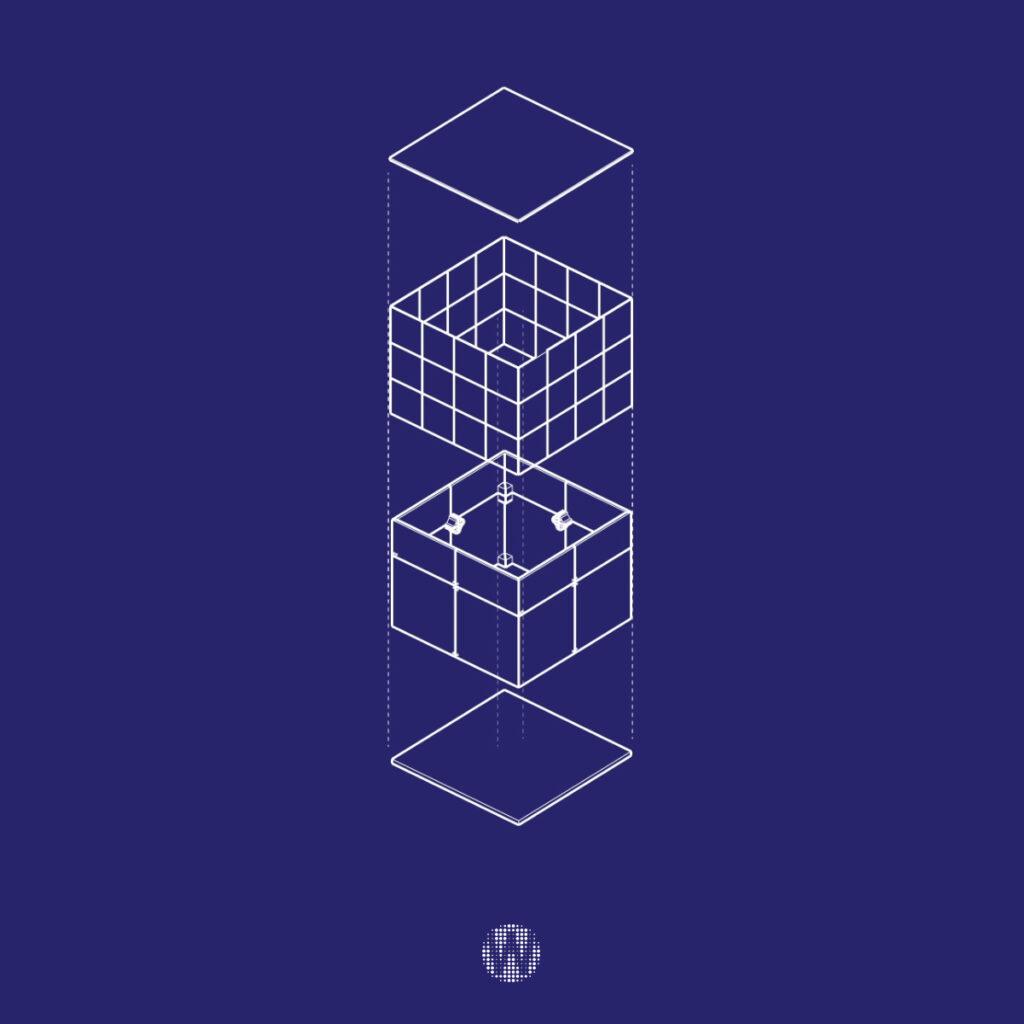 Progetto di realizzazione di Cubi Video Led di Wave&Co